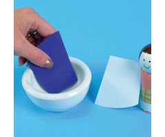 Wedge Mortar Cards - Blue