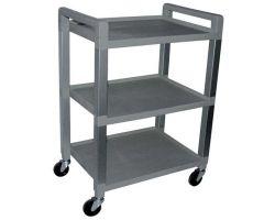 Three Shelf-Cart - With Drawer and Powerstrip