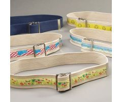 Sammons Preston Designer Gait Belts - Happy Face