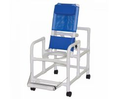 Echo Line Reclining Shower/Commode Chair With Pail