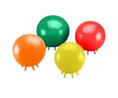 "CanDo Balls With Feet - 17-3/4"" (45 cm) Diameter - Yellow"