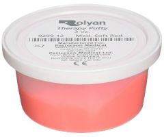 Sammons Preston Therapy Putty - 3 oz Red Medium Soft