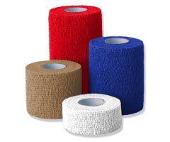 "Co-Flex Cohesive Flexible Bandage - 1""x 5 yd. (2.5 cm x 4.6 m) 30 Rolls - Tan"
