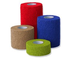 "Co-Flex Cohesive Flexible Bandage - Blue 2"" X 5YD(36)"