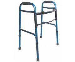 "5"" Non-Swivel Wheels- Blue - 1 Pair"