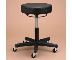 Therapy Stool with Circular Actuator - Black