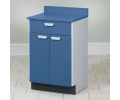 Mobile Cabinet with 2 Doors and 1 Drawer - Aztec Blue