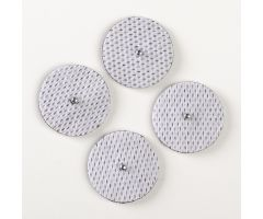 "Columbia 600 Snap Electrode Box of 10 - 1"" Round with Mini Snap"