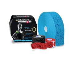 "TheraBand Kinesiology Tape - 2"" x 103.3' Bulk Roll - Black/Gray Print"