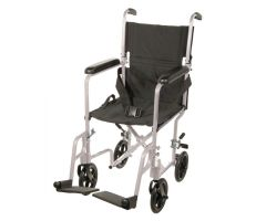 Aluminum Transport Chair 17""