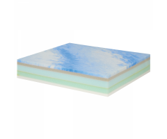 "Sammons Preston Deluxe Memory Foam - 16""x16""x3.5"""