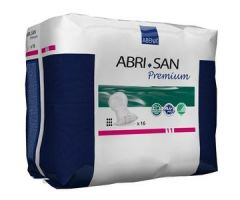 "Abena Abri-San 11 Premium Shaped Pad 15"" x 29"" L, 3400mL Absorption"