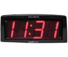 2 inch Red Digits LED Alarm Clock
