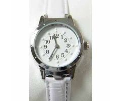 Ladies' Braille Watch Silver