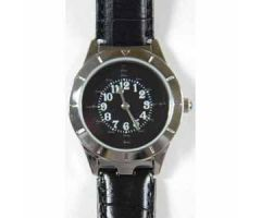Men's Braille Watch Silver Case
