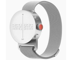 Dot Watch with Magnetic Mesh Band