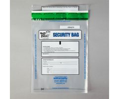 Alert Void Security Bags, Clear, 10 x 14