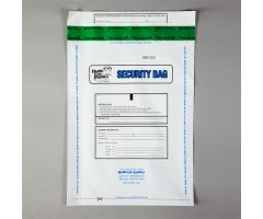 Alert Void Security Bags, White - 2.75-mil