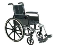 "Wheelchair Ltwt K-4 Flip-Back Desk Arms 16"" & SF (Cirrus IV)"