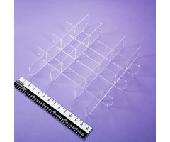 Clear Acrylic Divider Set for HCL Crash Cart Box for Metro  Lifeline  Crash Cart