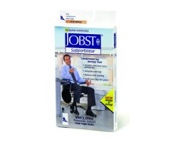 Jobst For Men 8-15 Over-The-Calf Sock Brown Small
