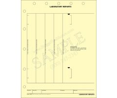 Laboratory Reports Mount Sheet 1109P