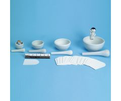 Ceramic Mortar and Pestle Kit