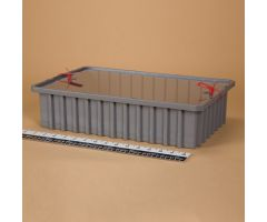 Divider Box with Security Seal Holes - Blue