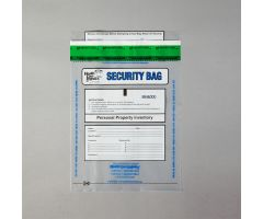 Alert Personal Property Bags, Clear, 8 x 10