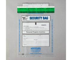 Alert Personal Property Bags, Clear