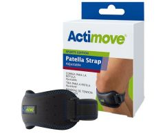 Patella Support Actimove Sports Edition One Size Fits Most D-Ring / Hook and Loop Strap Closure 11-1/2 to 16-1/3 Inch Knee Circumference Left or Right Knee