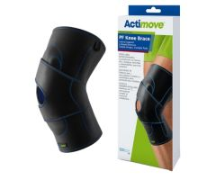 Hinged Knee Brace Actimove PF Sports Edition X-Large Pull-On 20 to 22 Inch Thigh Circumference Right Knee