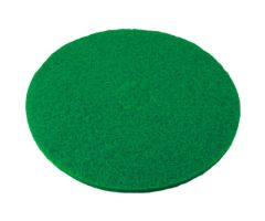 "PAD, SCRUBBER ROUND PERFORMANCE PLUS GRN 19"" (5/CS)"