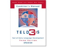 Test of Early Language Development Third Edition: Spanish (TELD-3:S)