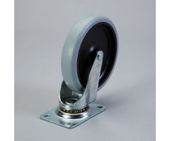 Replacement Swivel Caster for Heavy-Duty Utility Cart