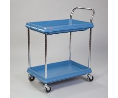 Metro  Deep Ledge Utility Cart, 2-Shelf