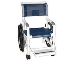 "Self propelled AQUATIC / REHAB shower transport chair 18"" internal width"