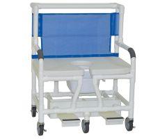 "Bariatric shower chair 30"" internal width"