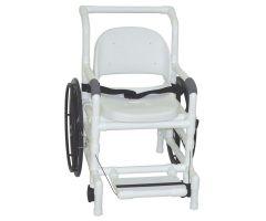 "Self Propelled AQUATIC / REHAB  shower transport chair 18.5"" internal width"