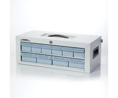 Waterloo  Locking Cassette  2 Tier  20x8x10
