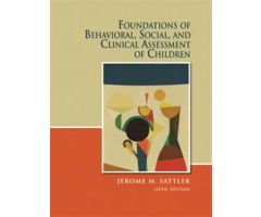 Foundations of Behavioral, Social, and Clinical Assessment