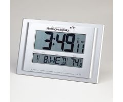 Digital Radio Atomic Wall Clock