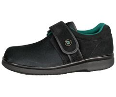 Gentle Step Diabetic Shoe W-11  M-9  Wide  Black  pr
