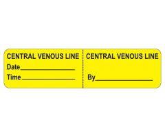 Central Venous Line Labels