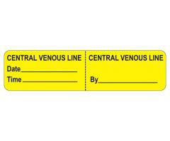 Central Venous Line Labels