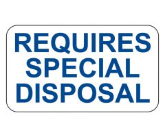 Requires Special Disposal Labels