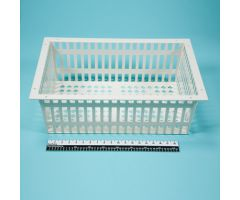 Basket for Easy Exchange System Carts - 8 Inch