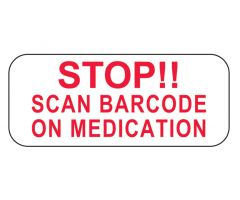 Stop Scan Barcode on Medication Labels