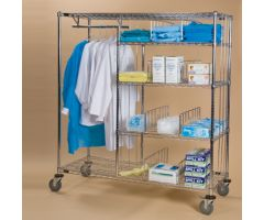 Apparel and Supply Cart