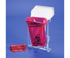 Biohazard Bags and Rack Disposal System for Mobile Hygiene Station